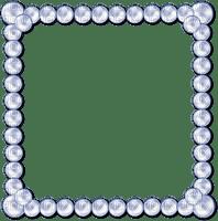 cadre frame marco azul blanco