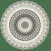 Black White Mandala