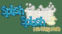 Kaz_Creations Logo Text Splish Splash
