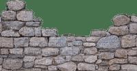 distressed block wall