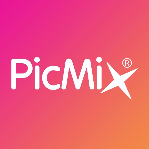 cadre rond/rouge orange/HD