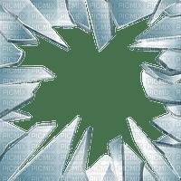 frame broken glass cadre verre brisé