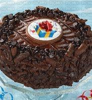 Bon anniversaire chocolat la pâtisserie bonne journée