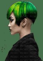 femme vert
