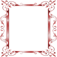 frame deco ornament red  cadre red