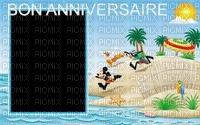 multicolore image encre bon anniversaire été color effet  Mickey Disney edited by me