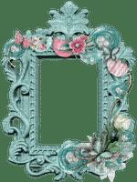 turquoise türkise cadre frame rahmen tube vintage