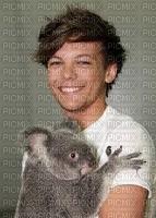 Louis Tomilson avec un panda :)