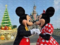 image encre couleur Minnie Mickey Disney anniversaire dessin texture effet edited by me