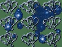 heart coeur herzen blue deco effect tube