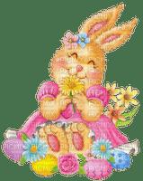 easter bunny girl pâques lapin