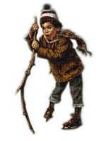 Rena Boy Junge Winter Schlittschuhe Vintage
