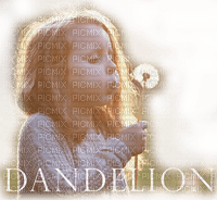 child girl dandelion enfant pissenlit