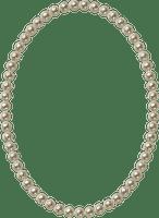 frame ovale perles GS