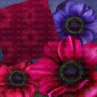 image encre effet néon fleurs deco nature printemps edited by me