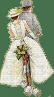 wedding couple bicycle couple mariage vélo