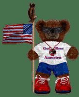 Kathleen Reynolds 4th July American USA Cute Bear
