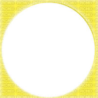 yellow circle frame