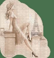 Kaz_Creations Woman Femme Paris Paysage Scenery