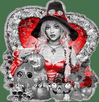 soave woman halloween witch fashion pumpkin