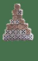 Ma pyramide de dés Debutante dice pyramid 5