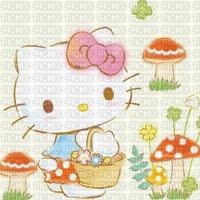 Automne fond hello kitty background autumn