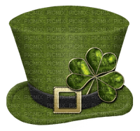 St. Patrick's Day hat hut cap chapeau green deco tube