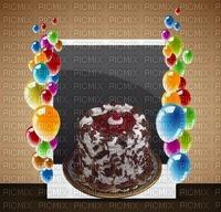multicolore image encre gâteau pâtisserie chocolat bon anniversaire ballons mariage edited by me