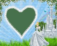 multicolore image encre vert bleu bon anniversaire coeur color effet Cendrillon fleurs Disney edited by me