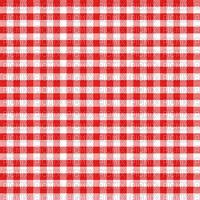 Vichy rouge et blanc