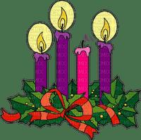 christmas candle wreath Advent3