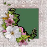 vintage flower fleur blumen fleurs blossom frame cadre rahmen tube