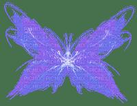aze papillon bleu blue
