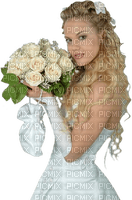 Kaz_Creations Woman Femme Wedding Bride Flowers