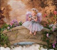 image encre couleur effet enfant fille anniversaire fleurs edited by me