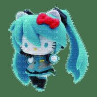Hello Kitty Hatsune Miku figure