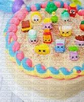 image encre gâteau pâtisserie shopkins art  bon anniversaire edited by me