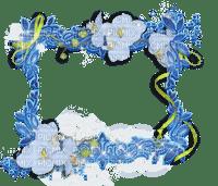 blue cadre frame rahmen tube spring printemps pink fleur