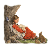 Kaz_Creations Baby Enfant Child Girl Rabbits