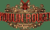 MOULIN ROUGE  movie text film deco tube red paris