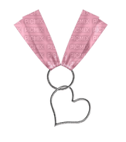 Kaz_Creations Deco Ribbons Bows Heart Love Colours Hanging Dangly Things
