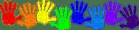 school children hands êcole enfant