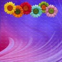 image encre couleur fleurs arc en ciel texture edited by me