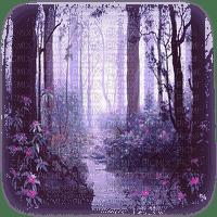 purple forest paysage violet forêt