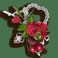 """""""marco con flores"""" cadre Marta"""