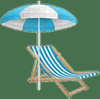 beach chair_chaise de plage_sea__Blue DREAM 70
