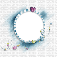 fond cadre blanc circle heart coeur background frame rahmen tube