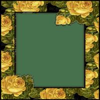 YELLOW ROSES FRAME cadre jaune 🌹