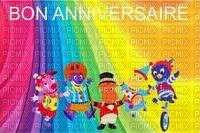 multicolore image encre effet néon cirque pitre rayures bon anniversaire carnaval  edited by me