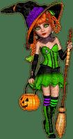 Witch.Poser.Green.Black.Purple.Orange